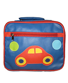 Kidzbash Lunch Box Bag Car - Blue