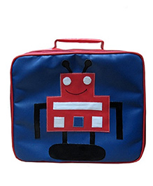 Kidzbash Lunch Box Bag Robot - Blue