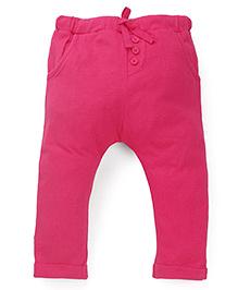 Fox Baby Full Length Track Pant - Fuchsia Pink