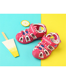 LCL By Walkinlifestyle Sandals Fashion Print - Pink