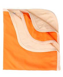 Tinycare Solid Colour Bath Towel - Orange