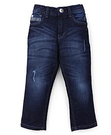 Gini & Jony Dark Wash Jeans - Blue
