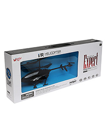 Wembley 4 Chanel Flying Remote Control Helicopter With Lights - Black