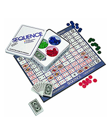 Emob Sequence Travel Card Board Strategy Family Game