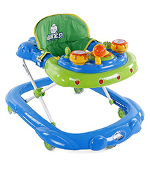 Baby Musical Walker - Blue Green