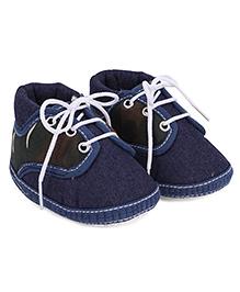 Little's Denim Booties - Blue
