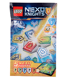 Lego Nexo Knight Combo Powers Wave 1 - Pack Of 5