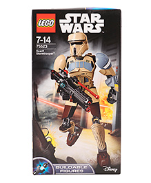 Lego Star Wars Scarif Stormtrooper Building Figure - 89 Pieces