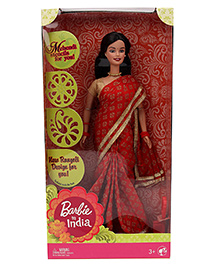 Barbie In India Doll Red - 28.5 Cm
