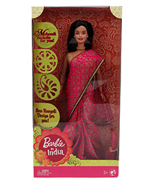 Barbie In India Doll - Pink