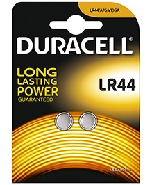Duracell Specialty Type LR44 Alkaline Coin Battery - Pack Of 2