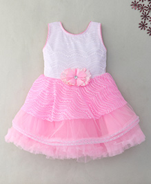 M'Princess Elegant Party Frock - Pink