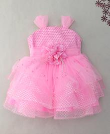 M'Princess Elegant Design Party Frock - Pink