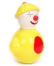 Toy Kraft Rocking Pals Musical Roly Poly Joker - Yellow