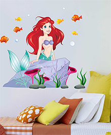 Disney Princess Ariel In The Sea Wall Decal Large - Multi Color