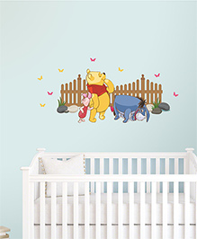 Disney Winnie The Pooh Wall Decal Small - Yellow