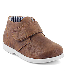 Kittens Shoes Casual Shoes With Velcro Closure - Brown