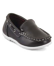 Kittens Loafer Shoes - Brown
