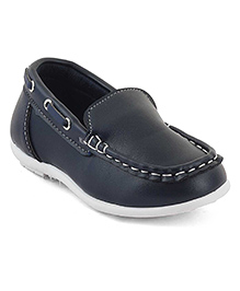 Kittens Loafer Shoes - Navy