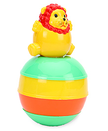 Ratnas Baby Touch Roly Poly Lion - Yellow Green - 1343164