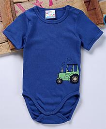 Eimoie Tractor Printed Oneise - Blue