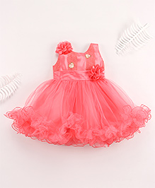 Superfie Fancy Frock For Lil Girl - Pink