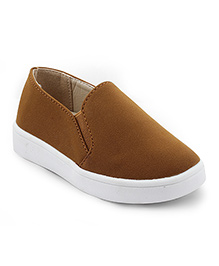 Kittens Shoes Casual Shoes With Slip-on Style - Beige