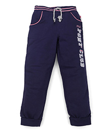Mothercare Track Pants With Drawstring - Blue