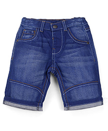 Mothercare Denim Shorts - Blue