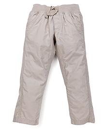Mothercare Full Length Plain Trousers - Navy