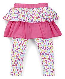 Mothercare Printed Skeggings - Pink & Multicolor