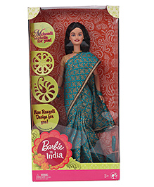 Barbie In India Doll Blue - 28 Cm