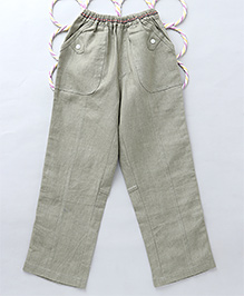 Popsicles Roll Up Pants - Olive Green
