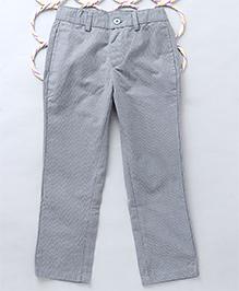 Popsicles Dapper Straight Fit Pants - Grey