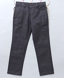 Popsicles Dapper Straight Fit Pants - Navyblue
