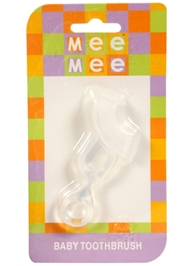Mee Mee - Silicone Baby Toothbrush