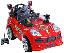 Mee Mee Battery Operated Car Ride On with Remote Control - Red