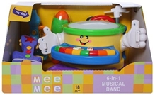 Mee Mee 6 in 1 Musical Band