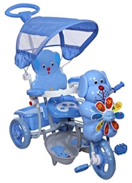 Mee Mee Baby Tricycle with Canopy - Blue