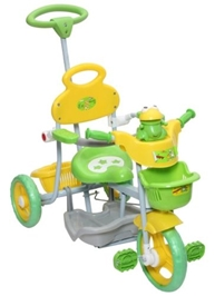 Mee Mee  - Frog Face Tricycle Green