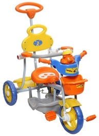 Mee Mee  - Frog Face Tricycle Orange