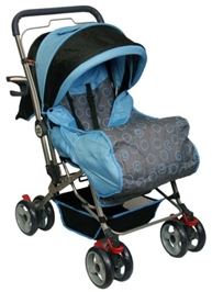 Mee Mee - Blue Pram Blue MM26