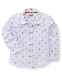 The KidShop Cross Design Shirt - White