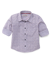 The KidShop Small Print Shirt - Blue