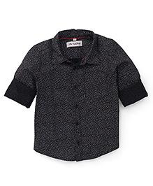 The KidShop Small Print Shirt - Black