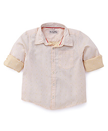 The Kidshop Classic Design Shirt - Yellow