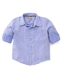 The Kidshop Classic Design Shirt - Blue
