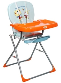 Mee Mee - Sky Blue High Chair