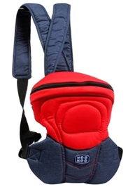 Mee Mee 4 Way Safe and Stylish Baby Carrier - Red