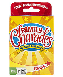 OutSet Media Family Charades Compendium Card Game - Multi Color